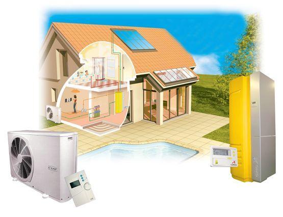 solaire pompe chaleur air eau rxlr chauffage et climatisation ardennes. Black Bedroom Furniture Sets. Home Design Ideas
